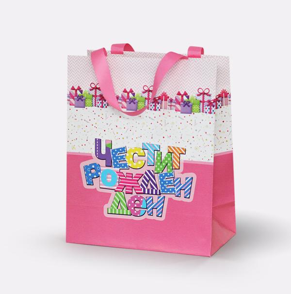 Подаръчни торбички 27х14х32 см