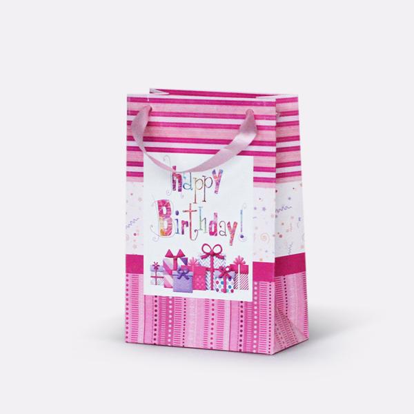 Подаръчни торбички 12х6х18 см