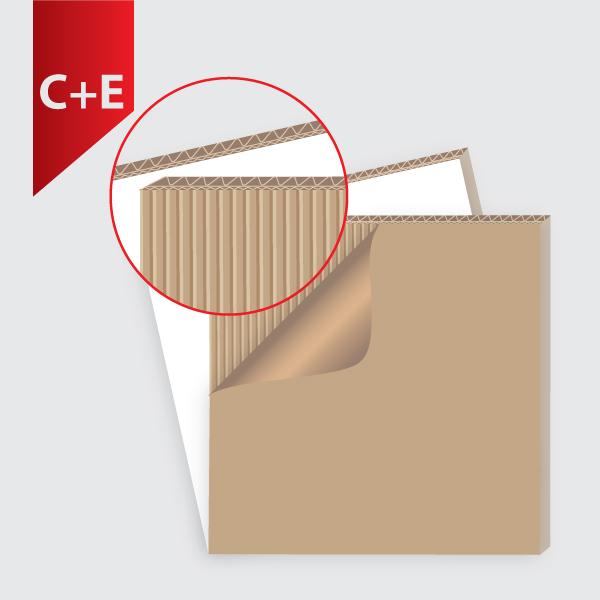5 слойно велпапе C+E вълна