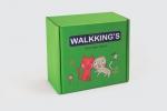 Кутия за детски играчаки от микровелпапе каширана.