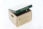 Кутия от микровелпапе, едностранен директен печат.