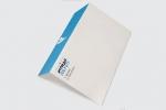 Пощенски плик бяла хартия с едностранен пълноцветен печат.