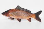 Персонализиран подарък - риба от дърво с klippe печат.