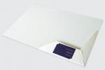 Папка с джоб и място за визитка, опаковъчен картон с бял гръб, пълноцветен едностранен печат.