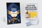 Рекламна пирамидка от 270 гр опаковъчен картон, едностранен пълноцветен печат и ламинат мат.