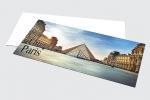 Поздравителна картичка с пълноцветен едностранен печат.