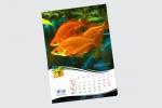 12-листов календар, 35х50 см пълноцветен печат