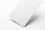 Визитна картичка, изработена с технология multilevel с две нива без печат.