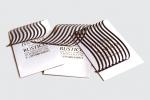Визитни картички с печат и лазерно рязане.