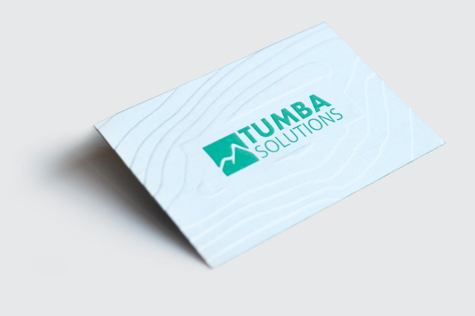 Визитна картичка, изработена с технология multilevel и едностранен пълноцветен печат.